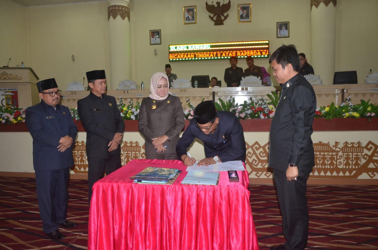 DPRD Tulang Bawang Paripurnakan Empat Raperda Usul Inisiatif, Jadi Perda Kabupaten