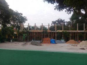 Prihatin Renovasi Pembangunan SDN 5 Jatimulyo Jati Agung Terkesan Terburu-buru