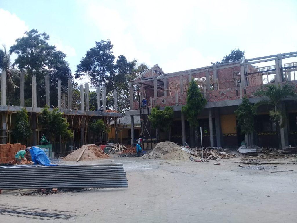 Lapor Pak Menteri Kemendikbud, Renovasi SDN 5 Jatimulyo Jati Agung Kangkangi UU Kontruksi