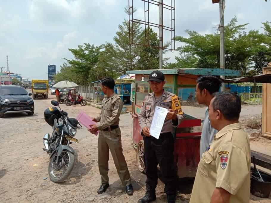 Camat Simpang Pematang Himbau PKL Pindah Ke Alun Alun
