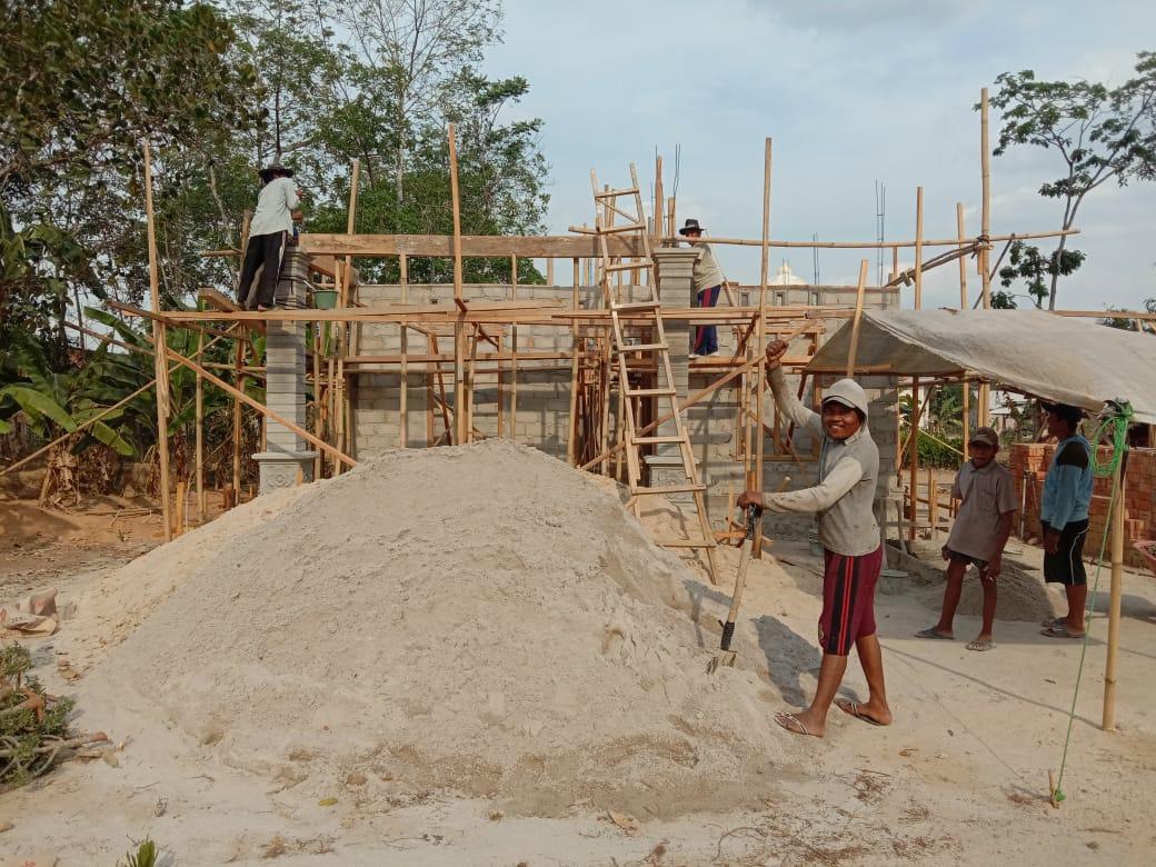 Tepat Sasaran, 45 KK Masyarakat Desa Labuhan Mulya Terima BSPS