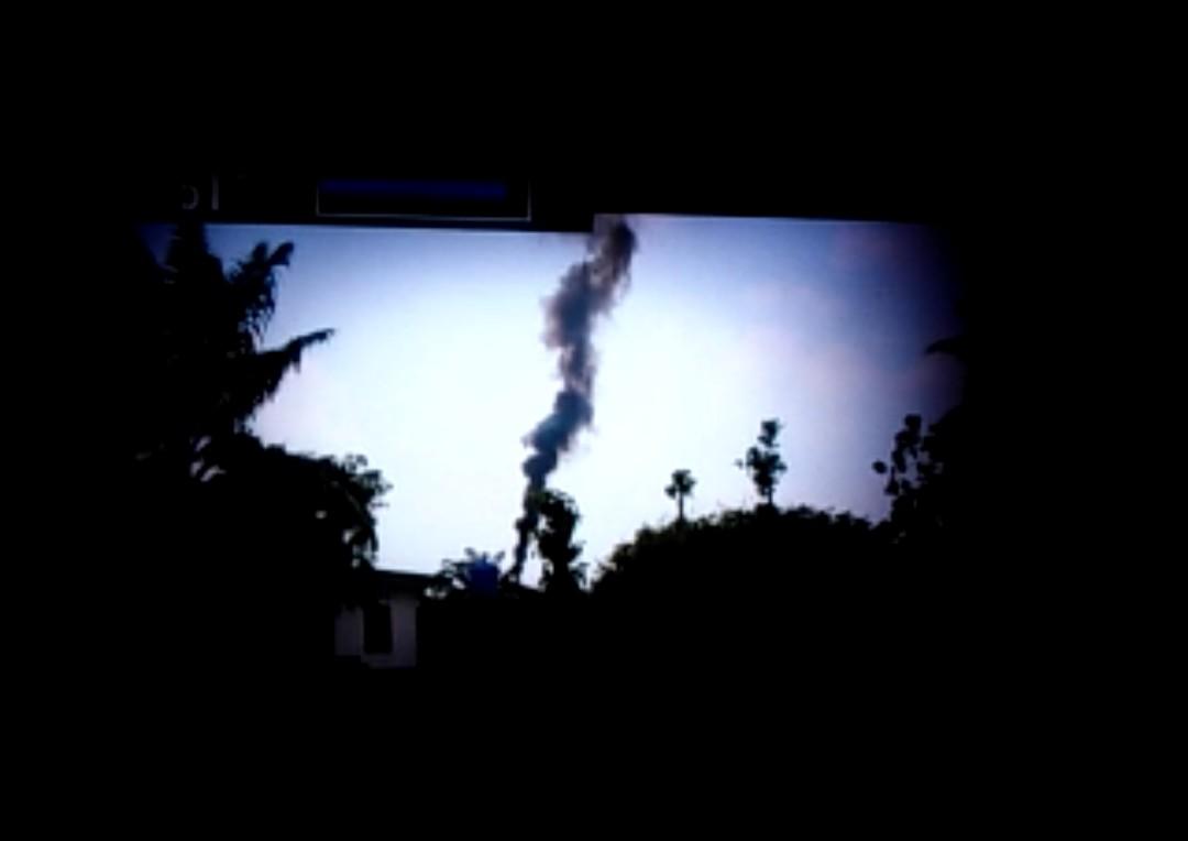 Ini dia, Asap Tebal PT KSP Yang Diduga Jadi Penyebab Pencemaran Udara