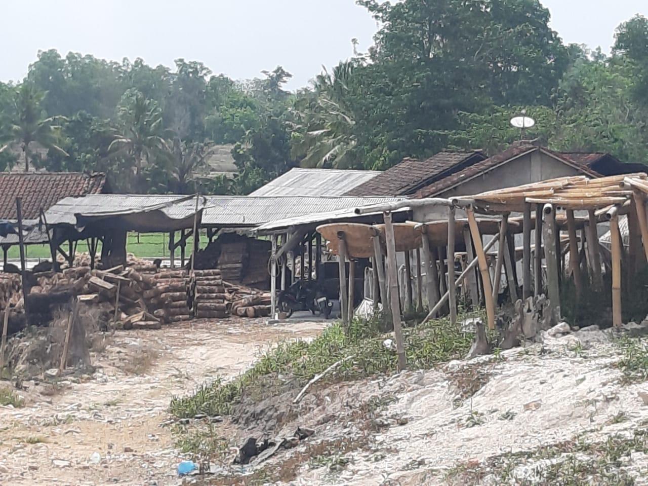 DLH Pesawaran Dikangkangi Perusahan Sagu Aren Di Kecamatan Negri Katon